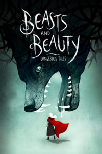 """Wallpaper titled """"Beasts and Beauty"""", available for download. Size: 320 x 480."""