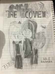 """Artwork titled """"The Coven"""", submitted by moonlight593rude  on September 23, 2021."""